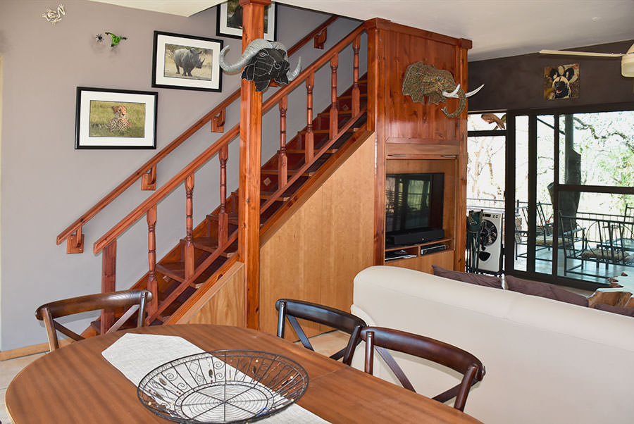 Dining-staircase-TV