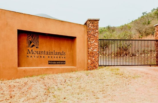 Mountainlands Nature Reserve Entrance