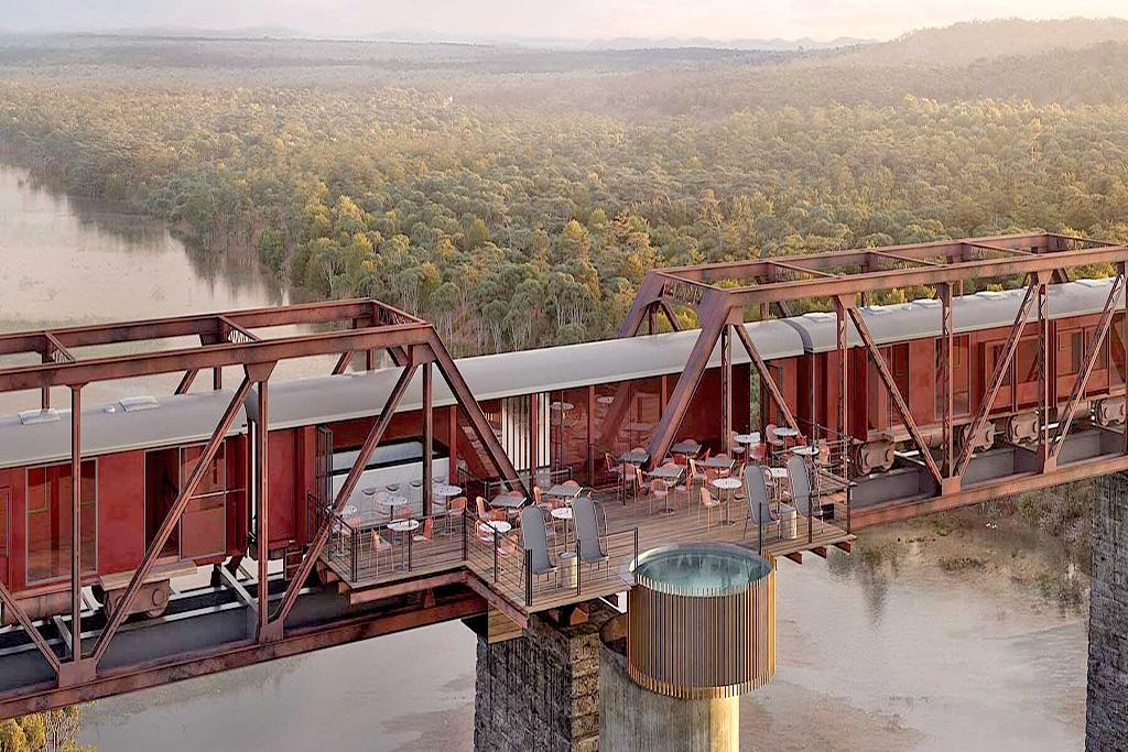 "<alt=""Kruger Park 'Shalati' Train Bridge Lodge Skukuza"">"