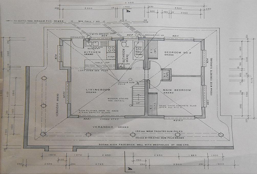 "<alt=""Floor-plan of Cottage for sale in Sabiepark"">"